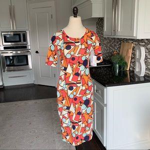 Lularoe Julia dress sheath size xxs 2 NWT